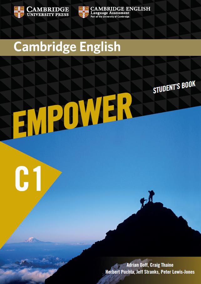 Cambridge English Empower C1 (Advanced) Student book