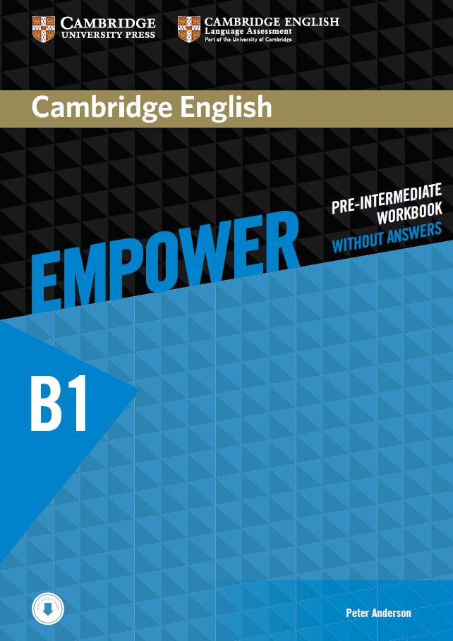 Cambridge English Empower B1 (Pre-Intermediate) Workbook